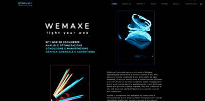 WeMaxe homepage