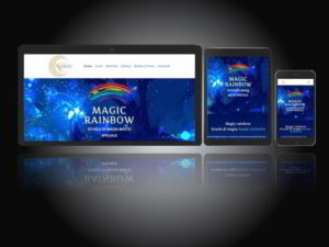 WeMaxe works Magic Rainbow WebSite